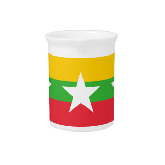 Burma Flag Pitcher