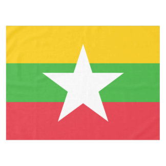 Burma Flag Tablecloth