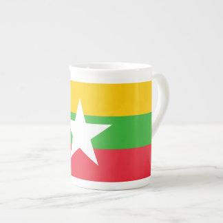 Burma Flag Tea Cup