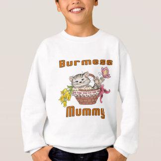 Burmese Cat Mom Sweatshirt