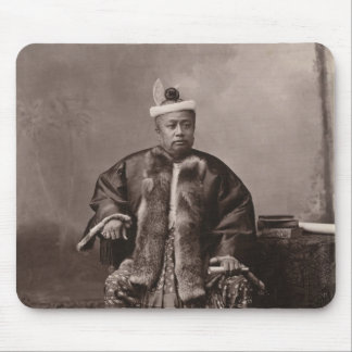 Burmese magistrate, late 19th century mouse pad
