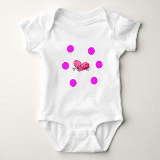 Burmese (Myanmar) Language of Love Design Baby Bodysuit