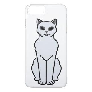 Burmilla Cat Cartoon iPhone 7 Plus Case