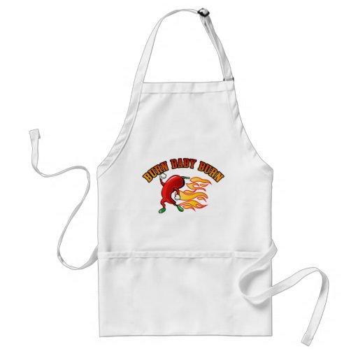 Burn Baby $22.95 (3 colors) Chefs Apron