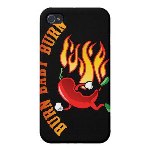 Burn Baby $40.95 IPhone 4 Case