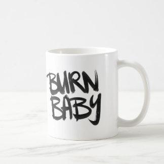 Burn Baby Basic White Mug