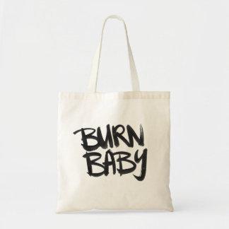 Burn Baby Budget Tote Bag