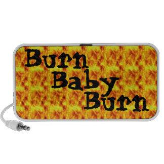 Burn, Baby, Burn 1970's Retro iPhone Speaker