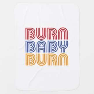 BURN BABY BURN PRAMBLANKETS