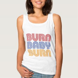 BURN BABY BURN BASIC TANK TOP