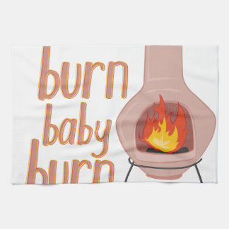 Burn Baby Burn Hand Towel