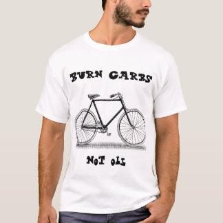 Burn carbs not oil t-shirt