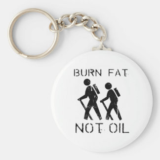 Burn Fat hike Key Ring