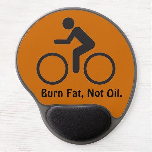 burn fat not oil gel mousepad