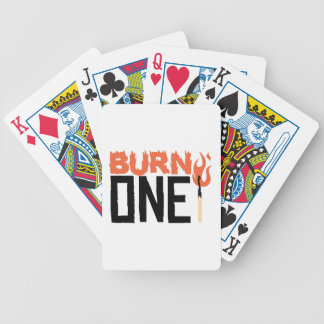 Burn One Bicycle Playing Cards