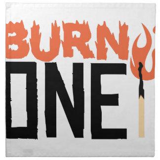 Burn One Napkin