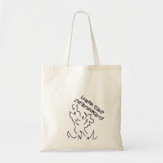 burn the patriarchy tote! tote bag