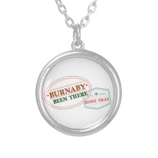 Burnaby Been there done that Silver Plated Necklace