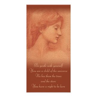 Burne-Jones CC0182 Comforting Words Photo Card
