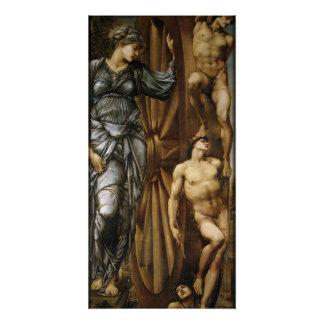 Burne-Jones Wheel of Fortune CC0426 Perfect Poster