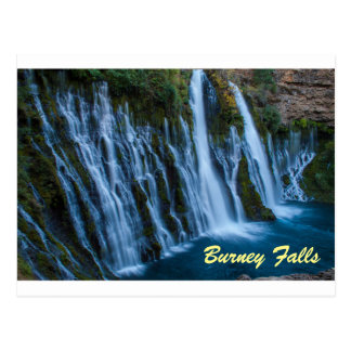 Burney Falls Postcard