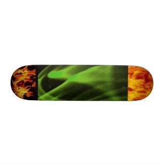 burning board skateboard decks
