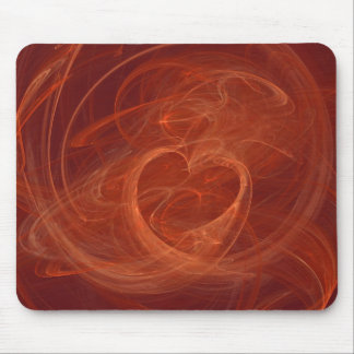 Burning bright mouse pad