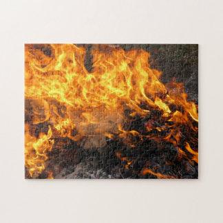 Burning Brush Jigsaw Puzzle