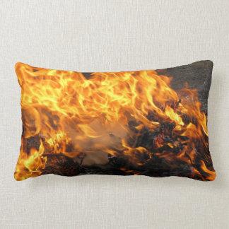 Burning Brush Lumbar Pillow