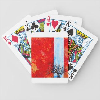 Burning Bush Bicycle Playing Cards
