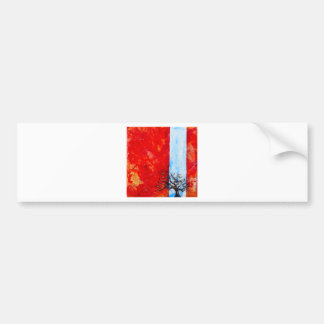 Burning Bush Bumper Sticker