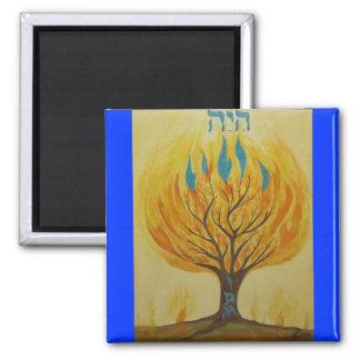 Burning Bush-I Am Magnet