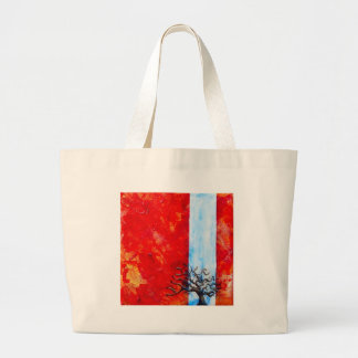 Burning Bush Large Tote Bag