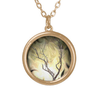 BURNING BUSH NECKLACE
