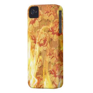 Burning Cover Blackberry Bold Case