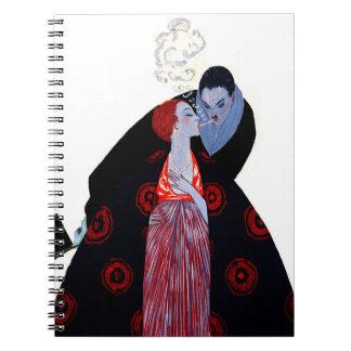 Burning Desire 1919 Spiral Notebooks