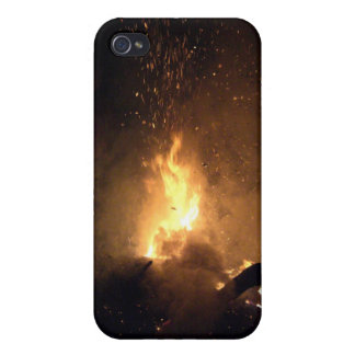 Burning fire cases for iPhone 4