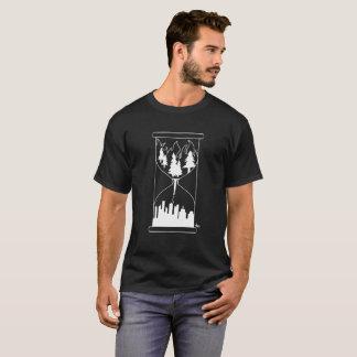 Burning forrest into skyline T-Shirt