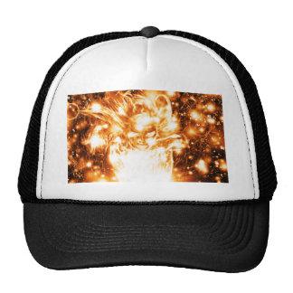 Burning Girl Cap