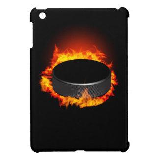 Burning Hockey Puck iPad Mini Case