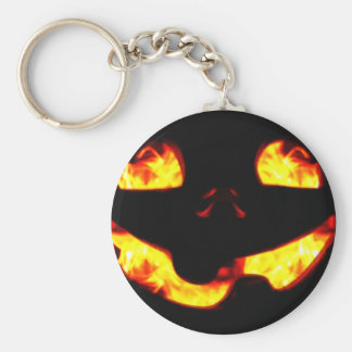 Burning Jack Key Ring