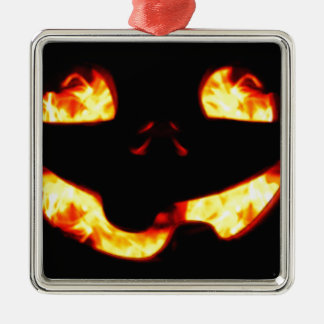 Burning Jack Metal Ornament