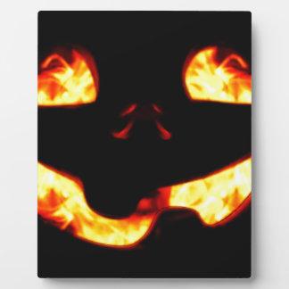 Burning Jack Plaque