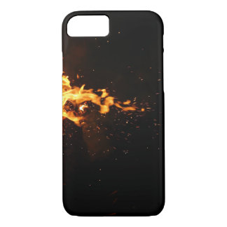 Burning M iphone 8/7 cover