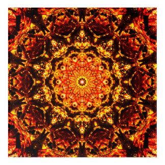 Burning Mandala Art