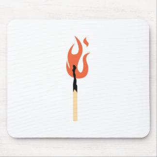 Burning Matchstick Mouse Pad