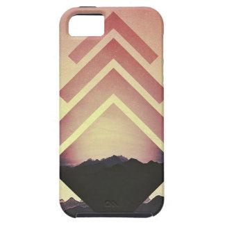 Burning Mountain Landscape Tough iPhone 5 Case