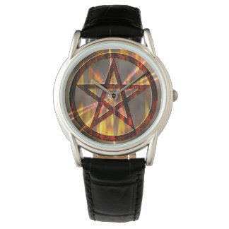 Burning Pentagram Watch