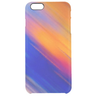 Burning rain clear iPhone 6 plus case