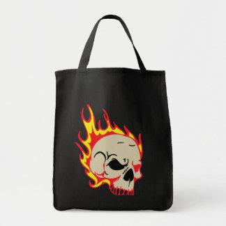 Burning Skull Bag